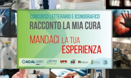 """Narrative Medicine Competition – Concorso """"Racconto la mia Cura"""" – Alessandria"""